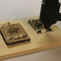 Taglio e incisione laser